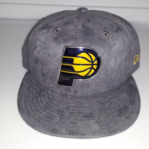 New Era Indiana Pacers Snapback Chrome Cap 9FIFTY